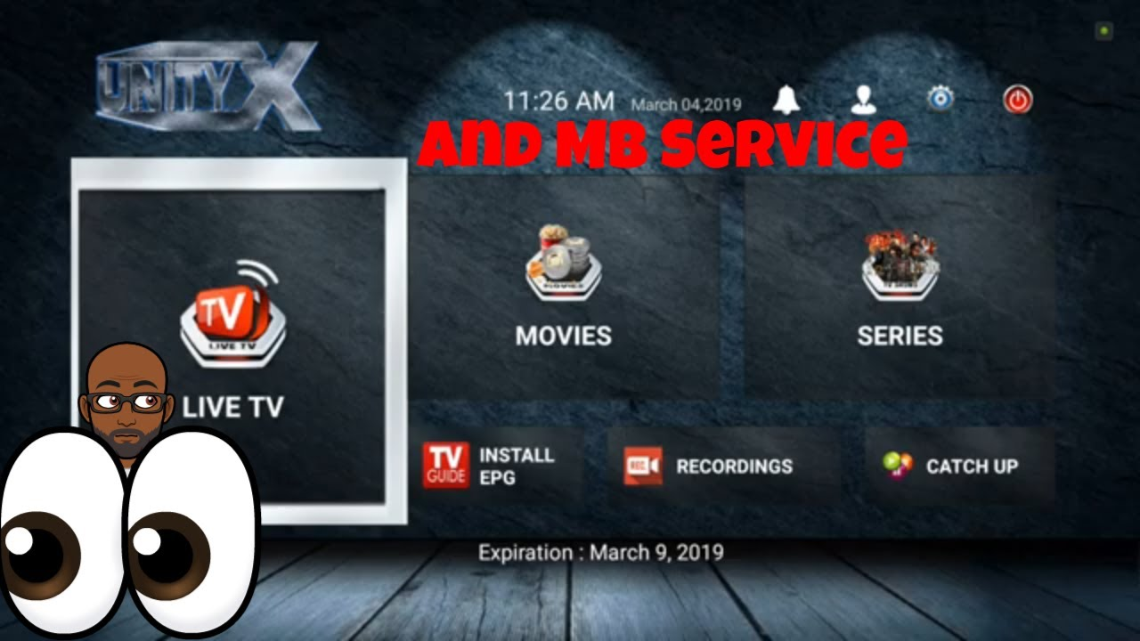 UnityX-Tv and MB service