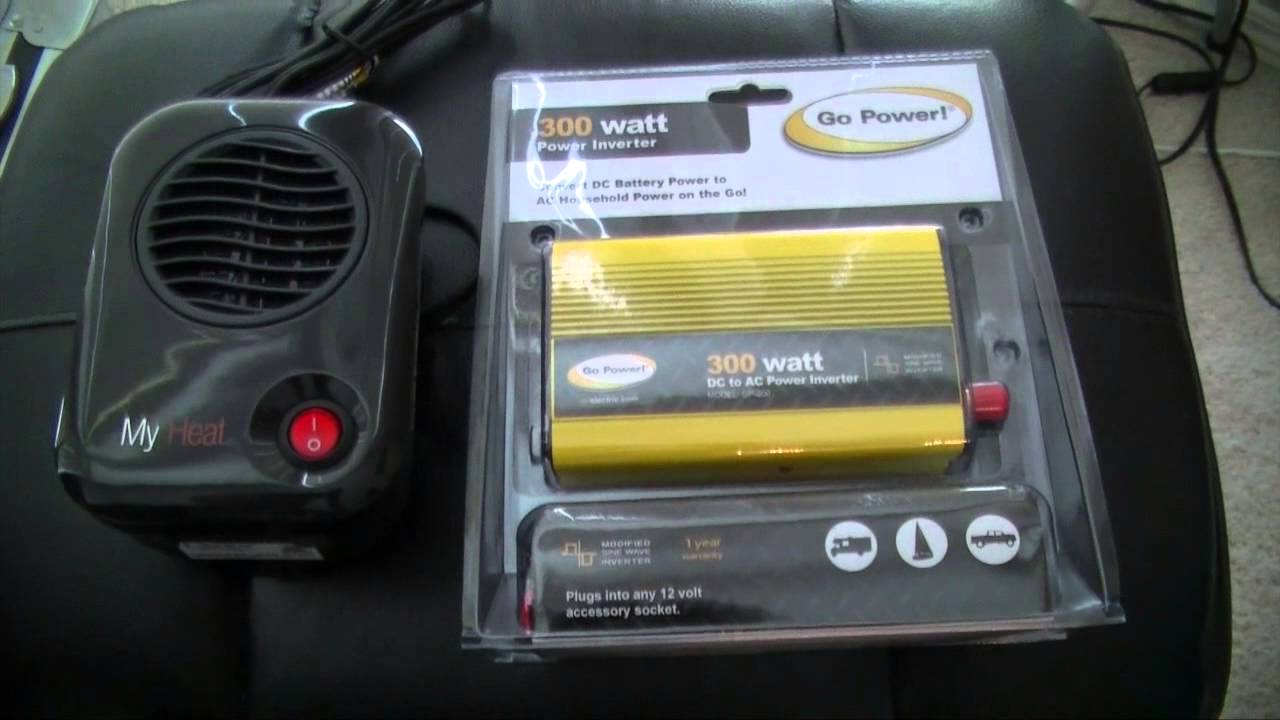 & Tent Heater Idea for Winter Camping - YouTube
