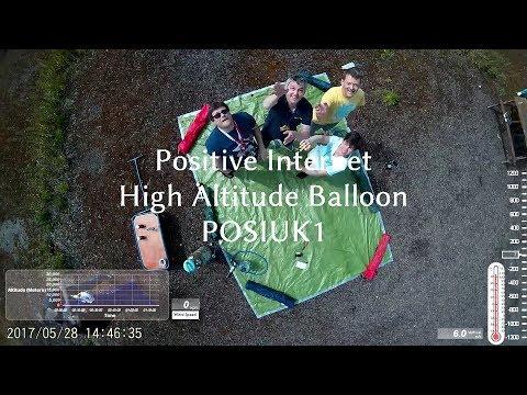 Positive UK Weather Balloon Norfolk 2017