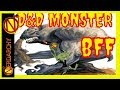 Gray Render and Goblin D&D Monster BFF - Dungeons and Dragons Monsters