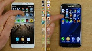 Speedtest : Huawei Mate 9 vs Galaxy S7 Edge