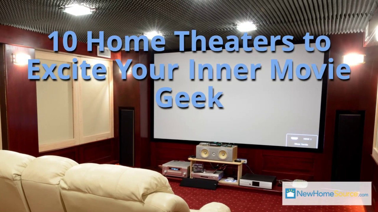 10 Home Theaters To Excite Your Inner Movie Geek Youtube - 10-geek-furniture-designs