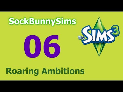 Sims 3 - Roaring Ambitions - Ep 06 - Exorcising is Hard
