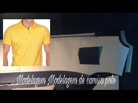 d022aee4eb Modelagem para camisa polo masculina  loja - YouTube
