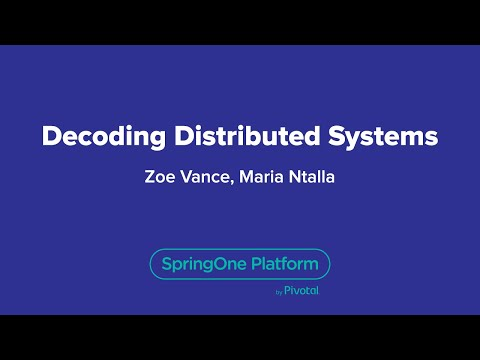 Decoding Distributed Systems