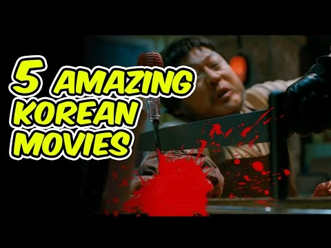 5 KOREAN MOVIES TO WATCH BEFORE YOU DIE  Action & Thriller