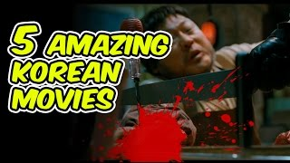 5 KOREAN MOVIES TO WATCH BEFORE YOU DIE | (Action & Thriller)
