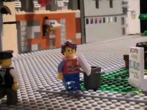 Lego Back to the Future, Hill Valley 1955