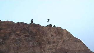 JUMPED OFF 1,000FT CLIFF!!! w/ Sam, Colby & Corey