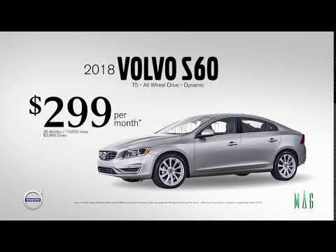 MAG Volvo S60 March Lease offer - YouTube