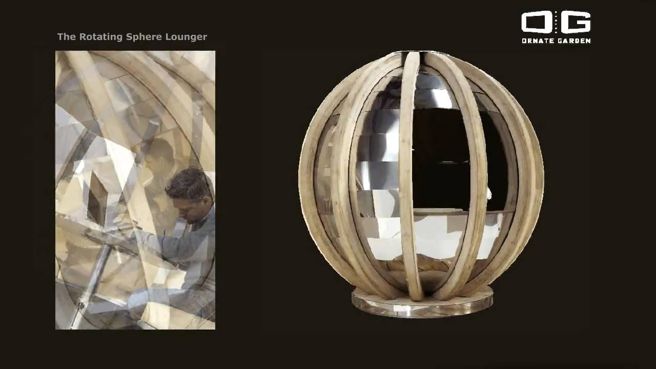 Rotating Sphere Lounger Youtube