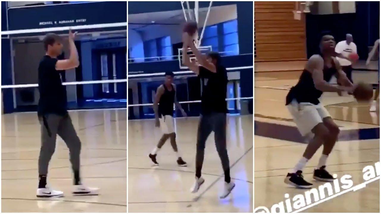 【影片】有如神助!神射手Korver親自指導字母哥練習投籃  讓防守者最懼怕的事發生了!
