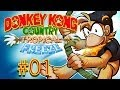 Donkey Kong Country Tropical Freeze Gameplay  Walkthrough w/ SSoHPKC Part 1 - It Starts Easy