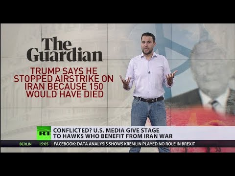 Who in US could actually benefit from Iran war?