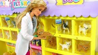 Barbie Pet Shop Japanese Toy Barbie Loja de animais de estimação Brinquedo Tienda de Mascotas Barbie