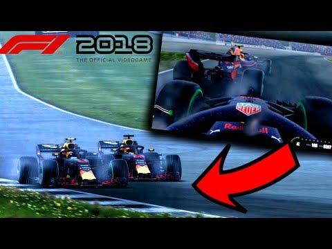 INCREDIBILE SULL'ACQUA! Ricciardo la finisce? - F1 2018 Carriera Red Bull