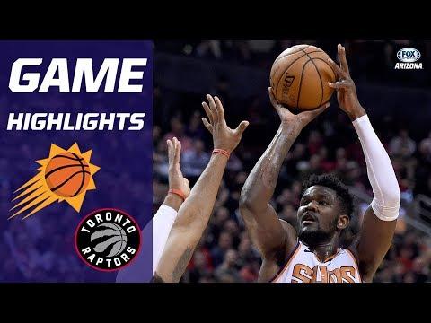 HIGHLIGHTS: Toronto Raptors 111, Phoenix Suns 109