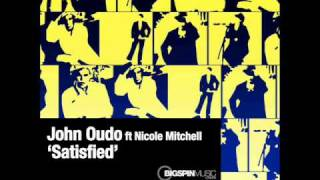 John Oudo - Satisfied - ft Nicole Mitchell - Deep Groove vocal .wmv