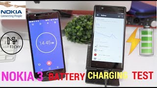 Nokia 3 - Battery Charging Test (Indian Retail Unit)