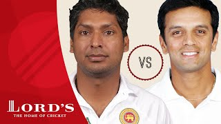 Kumar Sangakkara vs Rahul Dravid  | Who's The Greatest?