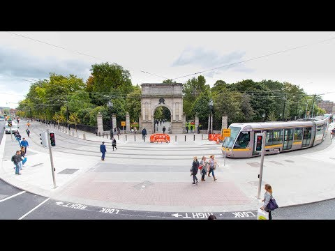 Luas Cross City  - open from 2pm - 9th December 2017