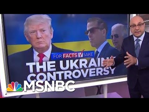 #ForFactsSake: There's No Evidence Of Wrongdoing Tied To Joe Biden's Son   Velshi & Ruhle   MSNBC