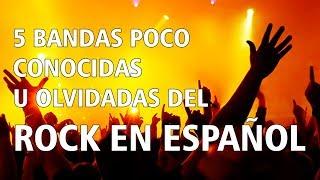 5 Bandas de Rock en Español Poco Conocidas u Olvidadas