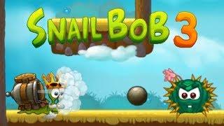 Улитка Боб 3 (Snail Bob 3) прохождение #4 (уровни 16-20) Супер костюм Боб с Пушкой!
