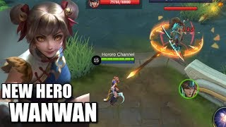 NEW HERO WANWAN IS THE MOST DIFFICULT MARKSMAN