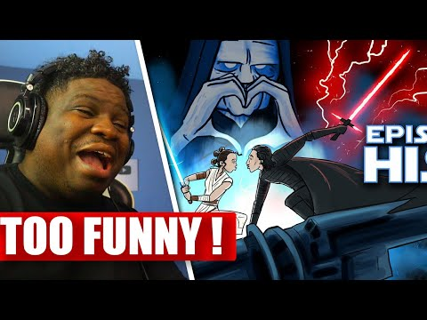 HiSHE - How Star Wars: The Rise of Skywalker Should Have Ended - REACTION - FIRST TIME WATCHING