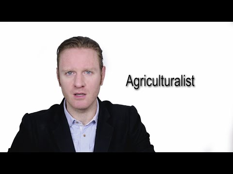 Agriculturalist - Meaning   Pronunciation    Word Wor(l)d - Audio Video Dictionary
