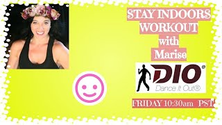 DANCE IT OUT FITNESS 60 min Live class