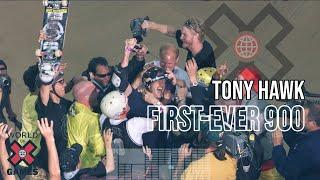 Tony Hawk lands the first-ever 900 - ESPN X Games