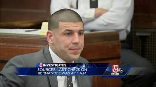 5 Investigates: Aaron Hernandez left behind drawings in prison cell wall