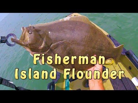 Catching Huge Flounder!