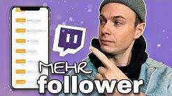 So bekommst du (schnell) viele Follower auf Twitch 🎮