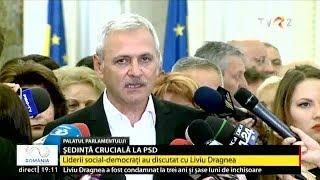 Liviu Dragnea, după condamnarea la închisoare: Rămân la conducerea PSD