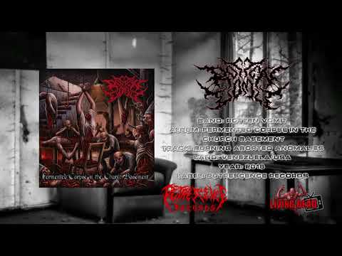 Rotten Vomit - Burning Aborted Anomalies (Living Dead TV)