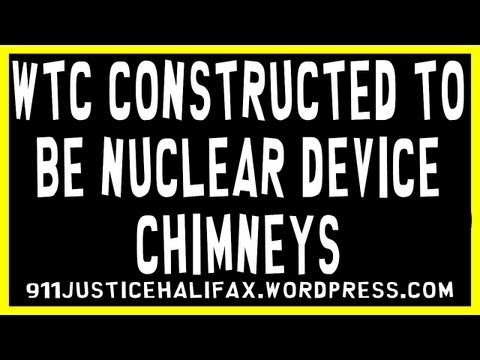 WTC Constructed to be nuclear device chimneys (PLEASE COPY & SHARE)