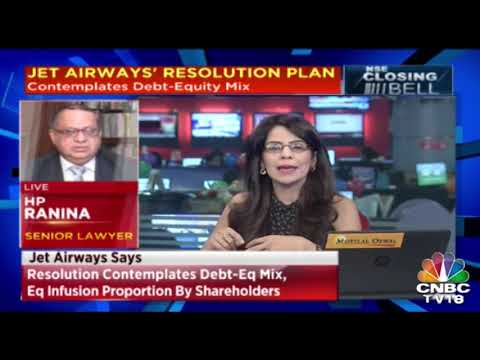 Jet Airways Resolution Plan Under Discussion Amongst Shareholders