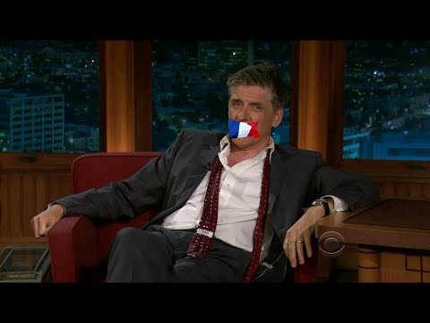 Late Late Show with Craig Ferguson 3/8/2011 Topher Grace, Catherine Deneuve