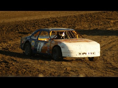 IMCA Stock Car at Kings Speedway with Ron Hurt 6/27/15