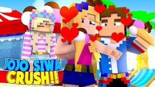 Minecraft LEAH IS JEALOUS OF JOJO SIWA'S CRUSH ON LITTLE DONNY!!