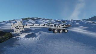 SpaceEngineers; HoneyBadger (Mining Rig) Mk. 1