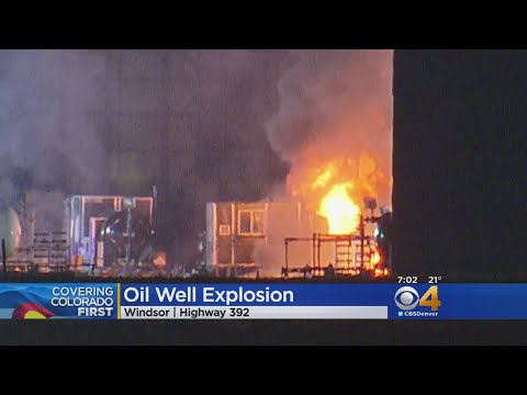 Oil Site Explosion Injures 1