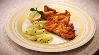 Cooking With Karine: Wienerschnitzel With Toni Morwald
