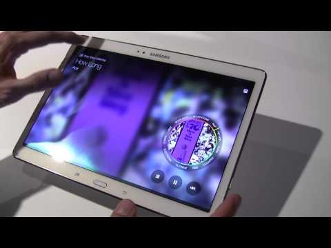 Hands on with the Samsung Galaxy Tab S 10.5