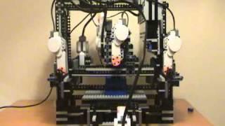 Makerlegobot: Lego Mindstorms Nxt 3d Lego Printer