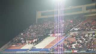 2012 2013 Atletico de Madrid   Sevilla   Biris Animando