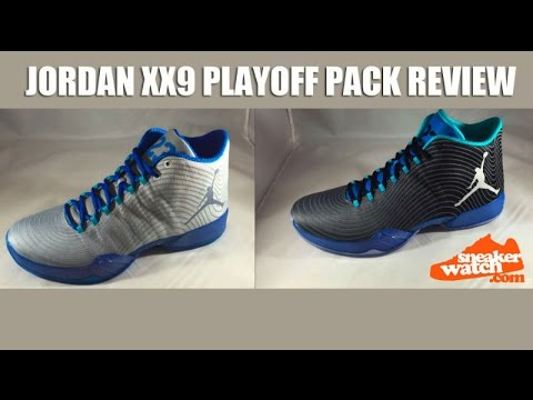 dd4ad99ca80a SneakerWatch Reviews the Air Jordan XX9  Playoff Pack  - YouTube
